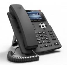"""Fanvil IP telefon X3S, 2 SIP, 2,4"""" LCD, 10/100 Mbps, napájecí zdroj"""