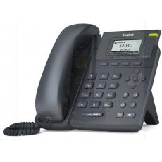 """Yealink SIP-T19P E2 IP telefon, 2,3"""" 132x64 LCD, 2x 10/100, PoE, 1x SIP, bez adaptéru"""