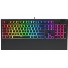 SPC Gear klávesnice GK650K Omnis Pudding Edition / herní / mechanická / Kailh Brown / RGB / US layout / černá