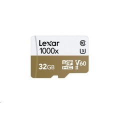 Lexar microSDHC/SDXC 32GB Professional 1000X