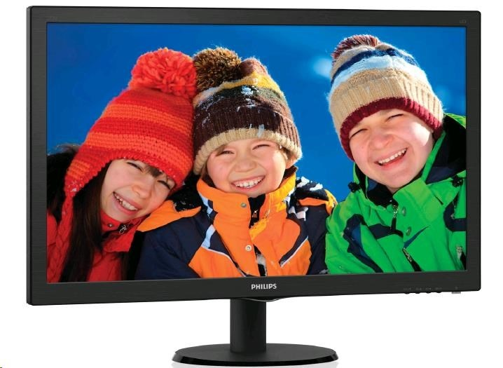 "Philips MT LED 27"" 273V5LHAB/00- 1920x1080, 10mil:1, 5ms, 300cd/m, D-Sub, DVI-D, HDMI, repro, VESA"